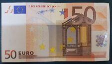 BANCONOTA DA 50 EURO FIRMA  Duisenberg -  50 EURO BANKNOTE SIGNING Duisenberg