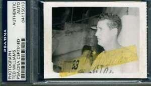 Ted Williams Psa Dna Coa Autograph 1950`s Original Photo  Hand Signed Authentic