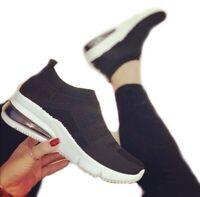 Scarpe Da Donna Calzino Ginnastica Sportive Sneakers casual maglia elasticizzato