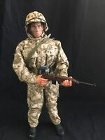 "WWII PACIFIC MARINE GI JOE by Hasbro 12"" Inch 1:6 Scale Action Figure War Toy"