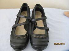 Skechers Shoes UK 6 Black textile Velcro strap Missing insole Worn