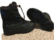 COLUMBIA Bugaboot waterproof snow boots BY1332-010  Black Youth Sz 7 Women's 8.5