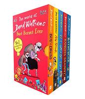 The World Of David Walliams Collection 5 Books Box Set Gansta Granny, Mr Stink..