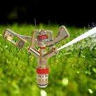 "1/2"" Full 360 Rotary Water Irrigation Sprinkler For Garden Lawn Yard Grass Plant"