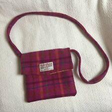 Harris Tweed shoulder bag in pink