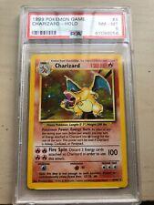 Pokemon Charizard Holo PSA 8 Base Set 1999 Rare #4/102