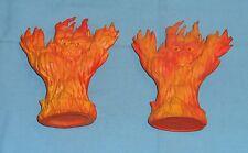vintage Advanced Dungeons & Dragons AD&D FIRE ELEMENTAL LOT x2