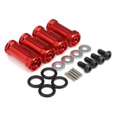 1 set New 12mm Red Aluminum Wheel Hex Hub 30mm Extension Adapter 1/10 RC Car USA