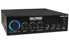 "HiFi Stereo Verstärker ""Mini-200"" mit Bluetooth und Mikrofoneingang 230V / 12V"