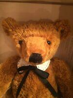 "LONNIE ST MARTIN Homespun Collection ""Woodrow"" 17"" Teddy Bear COA 1998 NIB NRFB"