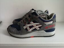 MEN'S / BOYS/ LADIES /GENUINE Asics Gel Lyte Iii 3  Blue Size 5.5 UK / 39 EU