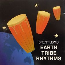 Brent Lewis - Earth Tribe Rhythms (CD 1990 Ikauma Records) VG++ 9/10