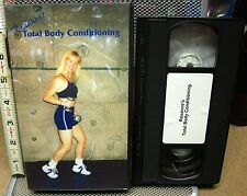 ROXANNE HRINKO Total Body Conditioning VHS Flagstaff Athletic Club exercise 2000