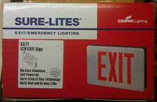 Cooper Sure-Lites CX71 LED Exit Sign