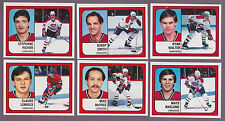 1988-89 Panini NHL Hockey Sticker Ryan Walter #262 Montreal Canadiens