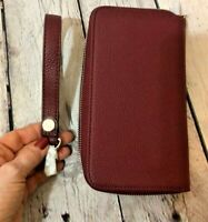 Thirty One all about the Benjamins Wallet Deep Merlot NEW 31 AATB Strap Included