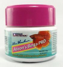 75 g ATISON'S BETTA PRO Ocean Nutrition Pellets Aquarium Tropical Fish Food