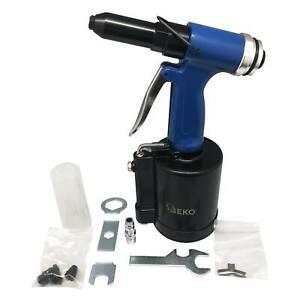 Nietpistole Druckluft pneumatische Popnietenzange Blindnietgerät 2,4mm - 6,4mm