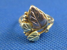 VINTAGE 10K BLACK HILLS GOLD  RING SIZE 7