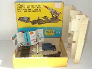 Corgi GS 4 BLOODHOUND GUIDED MISSILE GIFT SET (248)
