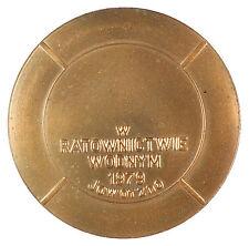 1979 Poland POLISH MEDAL bronze 73mm