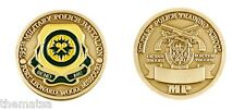 ARMY FORT LEONARD WOOD MP MILITARY POLICE TRAINING SCHOOL CHALLENGE COIN