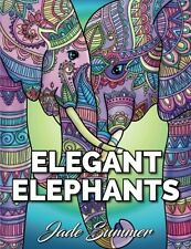 Coloring Book For Adult Kids Elephant Mandala Art Pattern Artwork Relax Stress