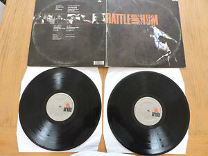 U2 RATTLE AND HUM DOLP COSTA RICA ISSUE FROM RADIO SILVER LABELS