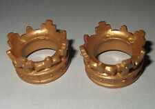 17064 Corona dorada 2u playmobil,crown,anillo cabeza,rey,king