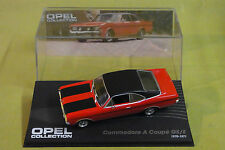 Modello di auto-OPEL Collection-Commodore A Coupé GS/E - 1970-1971 - ROSSO - 1:43