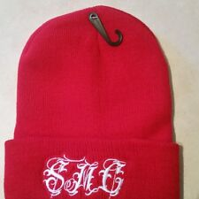 Beanie - stesa movement co.- red - old english