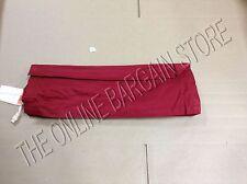"Pottery Barn Roman Shade Blinds window curtain drape Cardinal RED 26x64"" long"