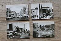 Sachsen Mäppchen 10 Bilder Foto Leipzig 1960er Messestadt Architektur Straße Ort
