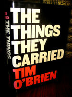 Things They Carried Tim O'Brien 1st Edition Vietnam War Novel First Printing