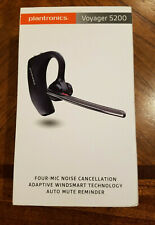 Used - Plantronics Voyager 5200/R Wireless Bluetooth Headset - no accessories