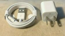 OEM Apple iPhone Original Charger Adapter & USB Cable 7 8 Plus X XR XS Max ipad