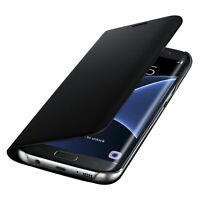 Original Leather Case for Samsung Galaxy S10 Plus S10e Flip Cover S8 S9 S7 Edge