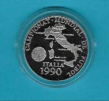 Polierte Platte Münzen mit Fußball-Motiven aus Italien