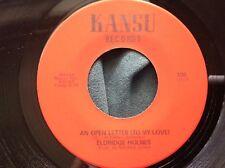 NM Rare Nola Soul 45 : Eldridge Holmes ~ Let's Go Steady ~ Kansu 100