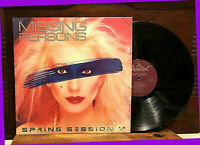 """Spring Session M by MISSING PERSONS 12""""LP 1982 Capitol 12228 Progressive Rock EX"""