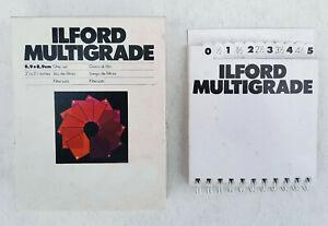 Ilford Multigrade Filtersatz