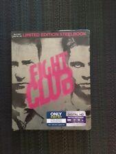 Fight Club (1999) Blu-Ray Steelbook Best Buy Exclusive-Sealed Oop