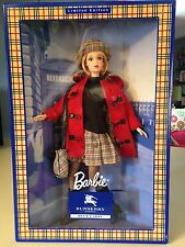 NEW Barbie Doll with BURBERRY LONDON BLUE LABEL Limited Edition Japan Rare F/S
