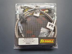 Edelbrock Russell Brake Lines Kit for Acura TSX 04-08