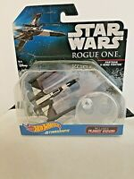 Hot Wheels Star Wars Partisan X-Wing Fighter Starships Flight Stand Included