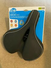 Sunlite Cloud9 Black Bicycle Suspension Cruiser Saddle Gel Foam Bike Seat Unisex