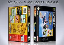 WAVE RACE. PAL ENGLISH. Box/Case. Nintendo 64. BOX + COVER. (NO GAME).