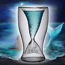 Mermaid Wine Whiskey Glass Mermaid Vodka Shot Glass Bar Drinkware Cup Beer Mug