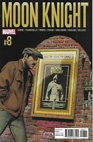Moon Knight Comic 8 Cover A First Print 2016 Jeff Lemire Stokoe Francavilla