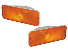 New 1976-77 F100 Lamp Housings Parking Turn Signal Amber Pair F150 Ford Pickup